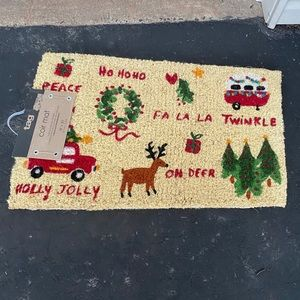 Tag 18x30 coir Whimsey christmas door mat